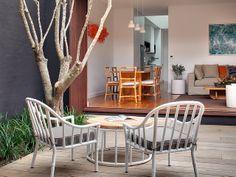 Courtyard garden with Olive by William Dangar & Associates, via Flickr