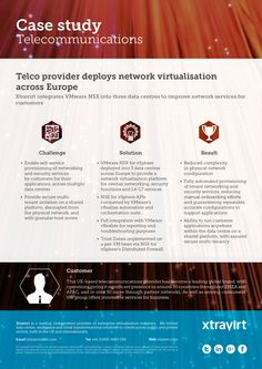Case Study: Telco provider deploys network virtualisation across Europe   -  Xtravirt integrates VMware NSX into three data centres to improve network services for customers