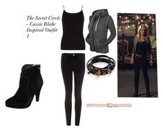 """""""The Secret Circle - Cassie Blake Inspired Outift 1"""" by pandagirl-14 ❤ liked on Polyvore featuring Acne Studios, Dorothy Perkins, Taupage, Forever New and Jules Smith"""