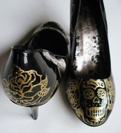 Scary Halloween High Heels & Shoes 2012 For Girls & Women