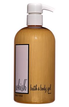 Whish™ Almond Body Wash available at #Nordstrom 17€