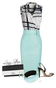 """08/29/15"" by longstem ❤ liked on Polyvore featuring NIC+ZOE, Balenciaga, Gianvito Rossi, Givenchy, Giorgio Armani and Alexa Starr"
