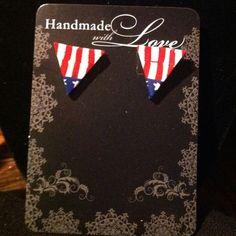 handmade fimo earrings