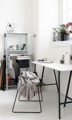 OUR MONOCHROME WORKSPACE