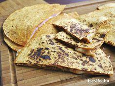 Quesadilla - Receptek | Ízes Élet - Gasztronómia a mindennapokra
