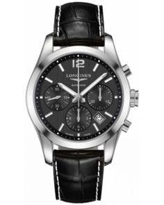 Best Longines Conquest Classic Automatic Chronograph 41mm Mens Watch L2.786.4.56.3
