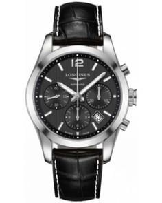 Best Longines Conquest Classic Automatic Chronograph 41mm Mens Watch L2.786.4.56.3
