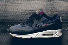 Nike Dresses the Air Max 90 Premium in Denim & Colorful Patterns - EU Kicks: Sneaker Magazine
