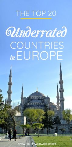 Do you want to know what are the less visited countries in Europe? Check this post out about the underrated travel destinations in Europe that includes all the underrated cities, underrated countries to visit, off the beaten path locations and so on. Check this post out or pin it for later read! #travel #europe #travelblog #traveldestination