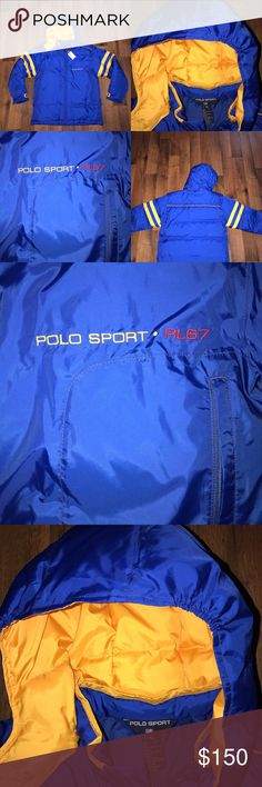 Vintage New Small Polo Sport Spell Out Puffer Coat New, boys XL but fits like a men's small Ralph Lauren Jackets & Coats Puffers