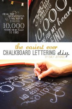 3 Tutorials That Will Have You Lettering Chalkboards Like a PRO » Curbly | DIY Design Community