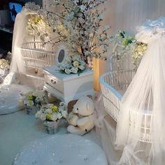 Baby cradle buaian kembar Untuk tempahan sila hubungi Qies Elwisya Creation HANYA di talian 019-2715269 call  Wassap