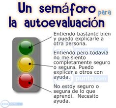 semaforo de autoevaluación Flipped Classroom, School Classroom, Teaching Skills, Teaching Resources, Teachers Corner, Learning Techniques, Cooperative Learning, Learning Styles, Classroom Posters