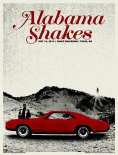 Alabama Shakes by Third Alert Designs