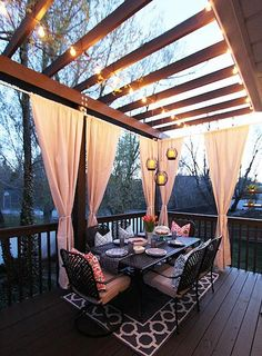 OUTDOOR DREAM SPACE. IT'S MINE!!!!
