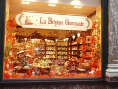 Chocolate & candy shops in Belgium :).