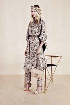 Fendi Resort 2014 Collection Slideshow on Style.com
