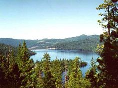 Cherry Lake Stanislaus National Forest Calif.Includes Carson-Iceberg & Emigrant Wilderness'
