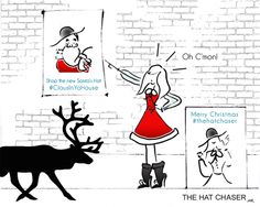 #Santa is a #fake #thehatchaser #thehatchaserink