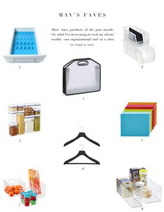 Favorite product picks from a professional organizer.