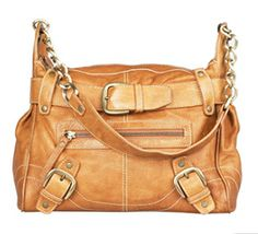 Tan leather slouch bag by River Island. Couple of years old, but still of my favourites