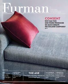 Gold winner, Magazines: General Interest - 30,000-74,999: Furman University