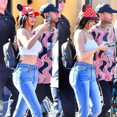 """6,104 Likes, 18 Comments - @kardashianuniverse_ on Instagram: """"Kylie and Tyga at Disneyland yesterday."""""""