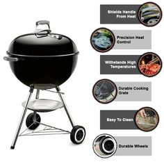 This yakitori grill is a high-quality charcoal kettle grill product that accommodates all grilling needs. I love the weber yakitori grill. Before it, I have weber smoker 18 inches, but now I bought this weber kettle grill to replace my old grill. It requires some basic assembly with the help of tools. #bbq_recips_grill #bbq_recipes_sides #bbq_recipes_grill_meat #bbq_recipes_grill_foil_packets #bbq_recipes_grill_summer #bbq_recipes_for_a_crowd #bbq_recipes_grill_barbecue #bbq_ideas Japanese Bbq Grill, Bbq Food For A Crowd, Bbq Recipes Sides, Grill Barbecue, Weber Kettle, Weber Grill, Foil Packets, Bbq Ideas, Best Bbq