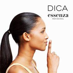 #DicaDoDia: Você tem o costume de prender o cabelo com frequência? Então muito cuidado, pois amarrar forte pode tensionar os fios, o que contribui para a quebra, assim como prender o cabelo molhado ou dormir de cabelo preso. Todo cuidado com os fios é sempre bom!
