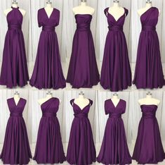 Brautjungfernkleid Purple Bridesmaid Dresses Long 2019 Convertible Sat – JZbridal party line up Brautjungfernkleid Purple Bridesmaid Dresses Long 2019 Convertible Satin Cheap Wedding Party Dresses Wedding Bridesmaid Dresses, Wedding Party Dresses, Bridal Dresses, Dark Purple Bridesmaid Dresses, Infinity Dress Bridesmaid, Wedding Parties, Eggplant Bridesmaid Dresses, Dresses Dresses, Poppy Bridesmaid Dress