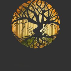 Druid Tree is a T Shirt designed by EVA3 to illustrate your life and is available at Design By Humans