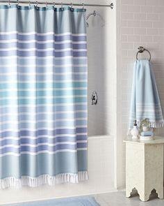 Kassatex Bodrum Shower Curtain