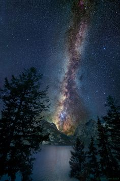 Milky way from Yellowstone Park-45