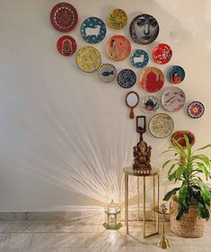 Ishita's Fusion Indian Home in Delhi - dress up your home - the best interior Indian Room Decor, Indian Bedroom, Ethnic Home Decor, Indian Living Rooms, Diy Room Decor, Bedroom Decor, Living Room Decor India, Indian Decoration, India Home Decor