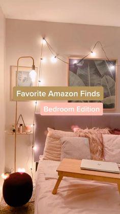 Cute Bedroom Decor, Room Design Bedroom, Teen Room Decor, Room Ideas Bedroom, Girls Bedroom, Room Decor Teenage Girl, Cheap Bedroom Ideas, Cheap Room Decor, Cute Room Ideas