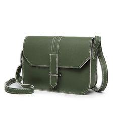 FuzWeb:New Arrival Vintage Bag Solid Crossbody Casual Flap Bags Famous Women Handbags Women Messenger Bags