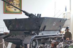 "German WWII, anti -aircraft wagen, called ""Moebelwagen"""