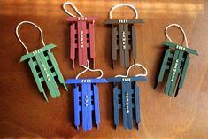 Handmade Christmas Crafts, Christmas Crafts For Adults, Diy Christmas Ornaments, Xmas Crafts, Toddler Christmas, Ornament Crafts, Christmas Ideas, Popsicle Stick Crafts For Adults, Diy Popsicle Stick Crafts