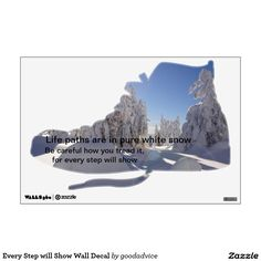 Every Step will Show Wall Decal for #quote #collectors