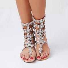 100aefe1d3c Aliexpress.com   Buy women sandal 2018 fashion summer women shoes sandals  with rhinestones sandalia feminina women shoes plus size 43 Crystal from  Reliable ...