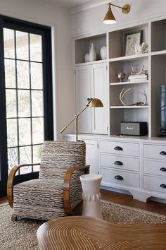 Robin Rains Interior Design Art Deco Chair And Organic Tail Table