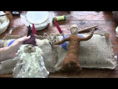 Needle Felting: How to Make a Forest Person Part 2 - YouTube