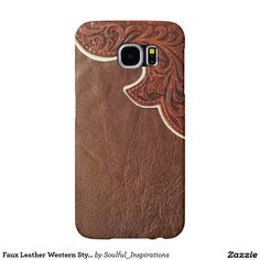 Faux Leather Western Style SAMSUNG GALAXY S6 CASE Samsung Galaxy S6 Cases