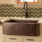 Features:  -16 gauge hammered copper.  -IAPMO listed and cUPC certified.  -Apron extends on each side for a unique look.  -Undermount installation.  Installation Type: -Farmhouse/Apron/Undermount.  Ma