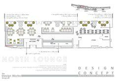 Members Bar | Concept Design | Spaceplanning