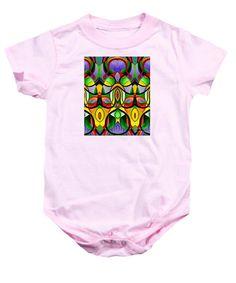 Baby Onesie - Mandala 9703