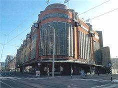 """de Bijenkorf Den Haag. The """"Harrods"""" store of the Netherlands."""