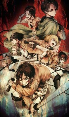 Shingeki no Kyojin (Attack on Titan - Ataque de los Titanes ) #SnK #Anime