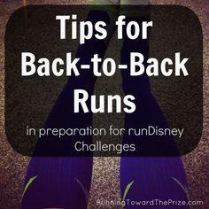 training for Run Disney Princess Glass Slipper Challenge