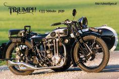 Triumph CTT 500ohv 1929